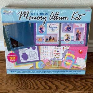 Navy 12x12 Memory Album Kit